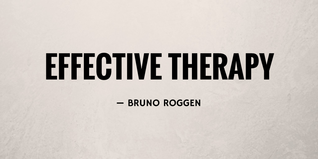 Effective Therapy by Bruno Roggen