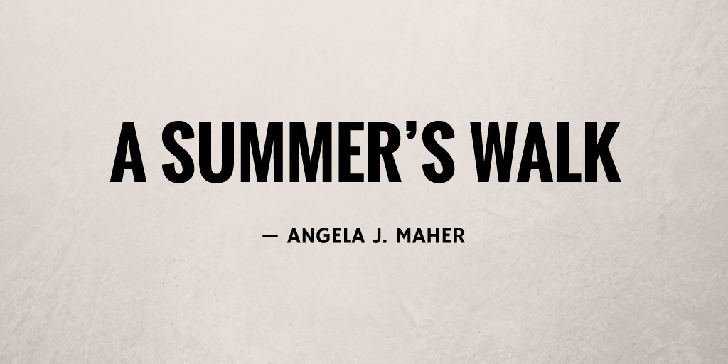 A Summer's Walk by Angela J. Maher