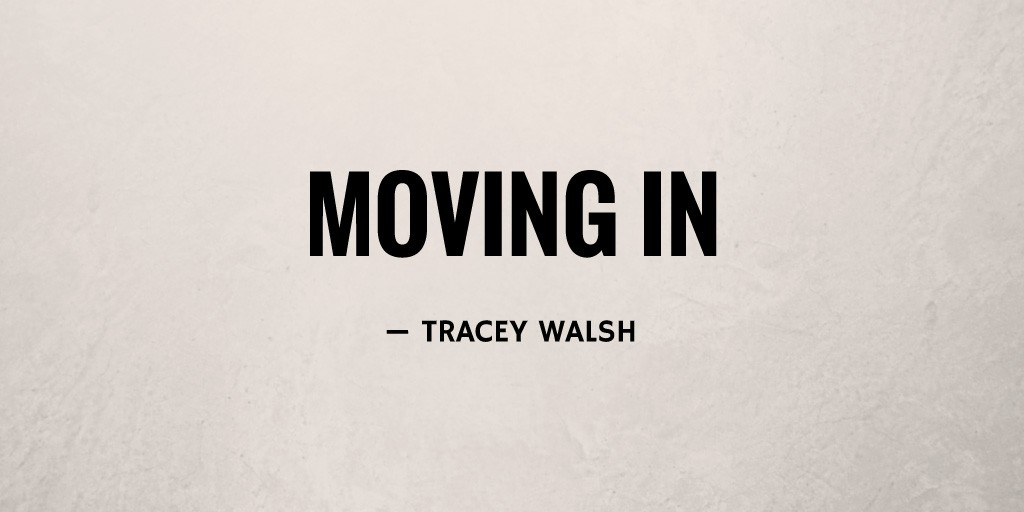Moving In by Tracey Walsh