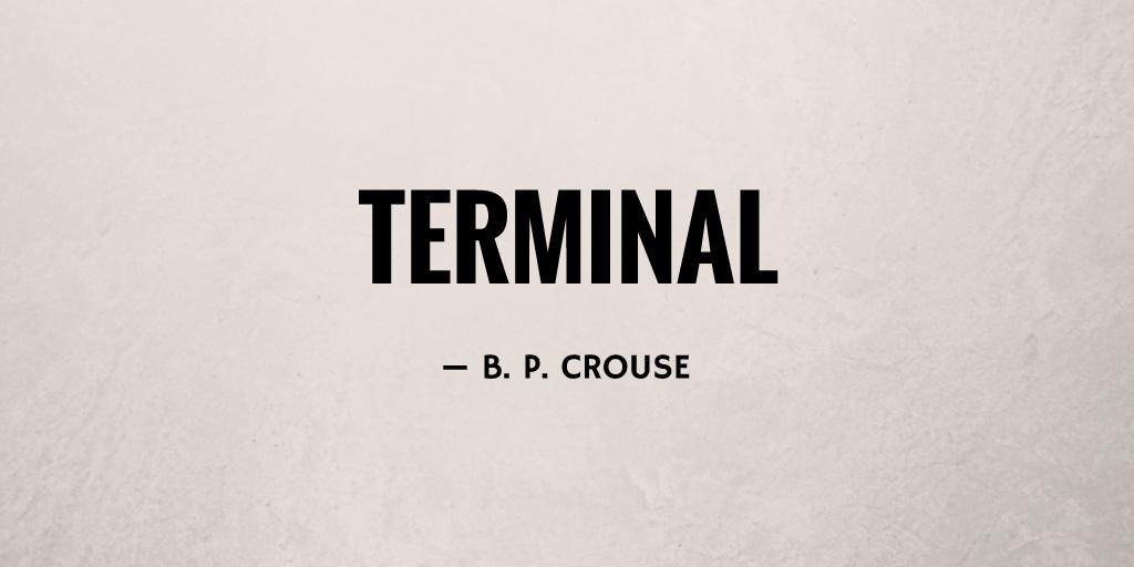 Terminal by B. P. Crouse