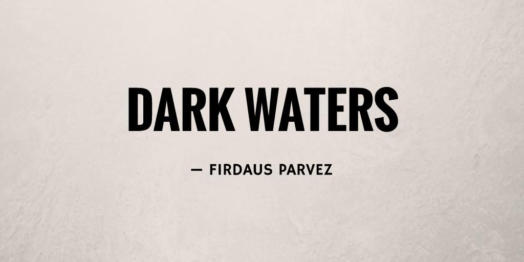 Dark Waters by Firdaus Parvez