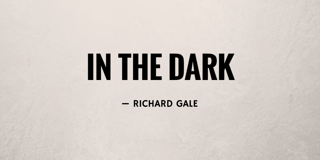 In the Dark by Richard Gale