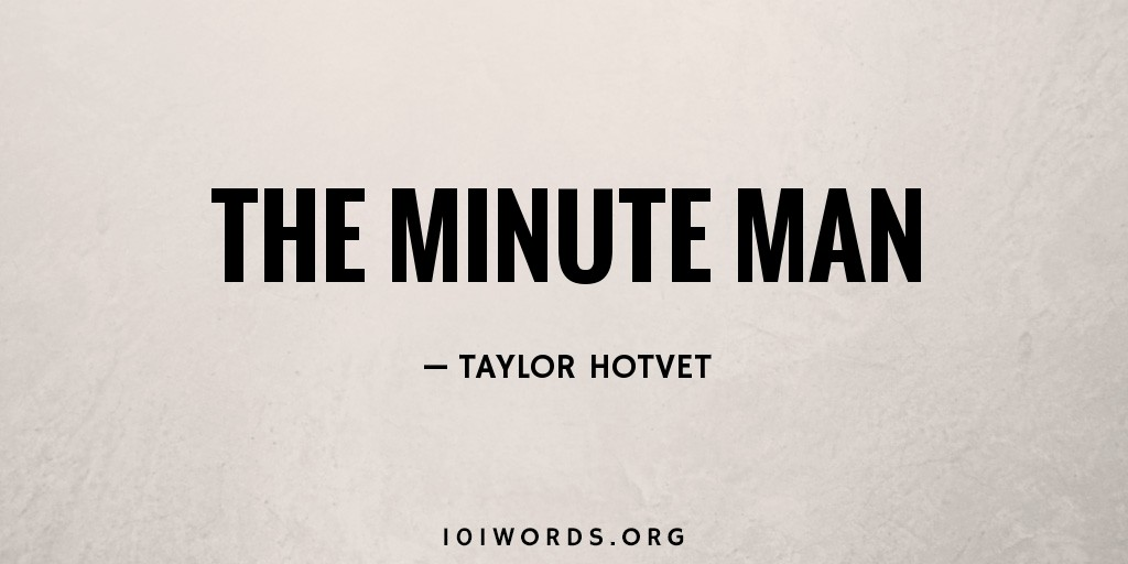 The Minute Man