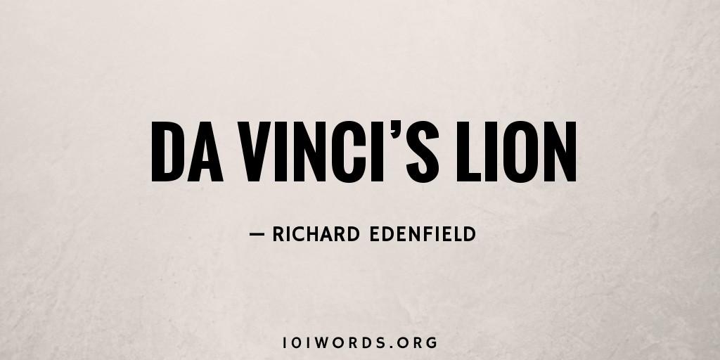 Da Vinci's Lion