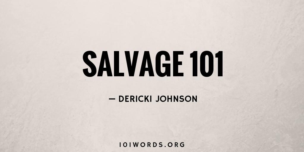 Salvage 101