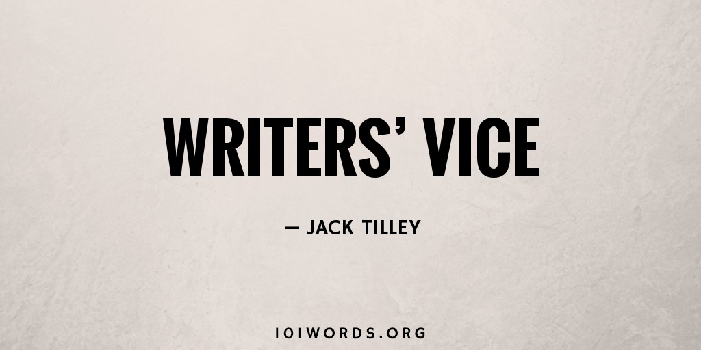Writers' Vice