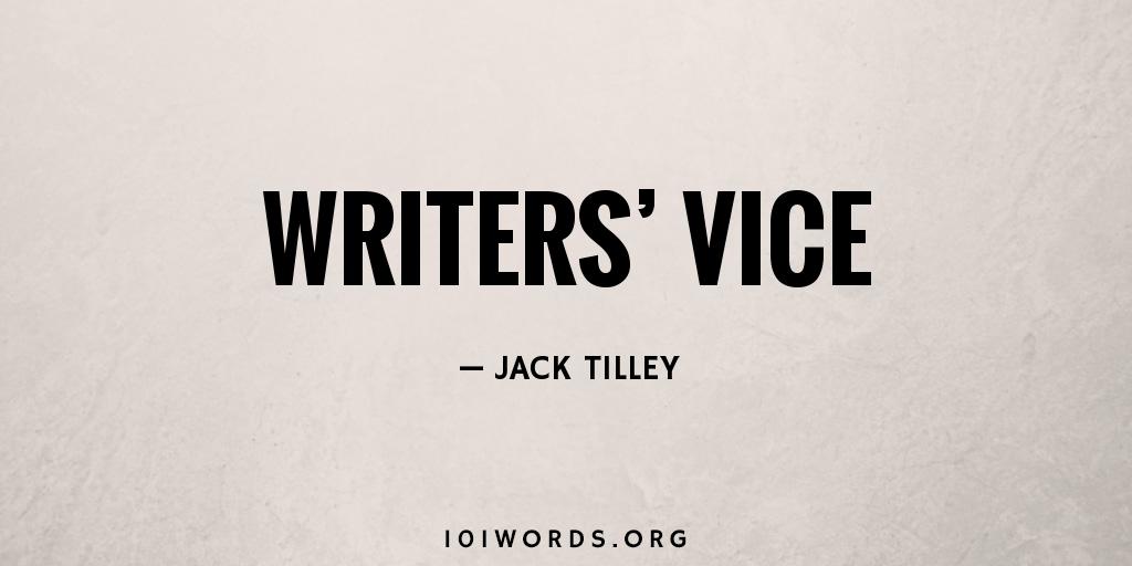 Writers' Vice