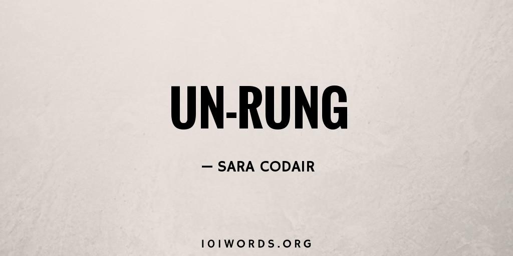 Un-Rung