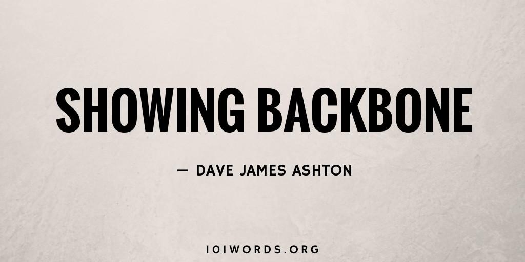 Showing Backbone