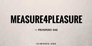 Measure4Pleasure