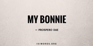 My Bonnie