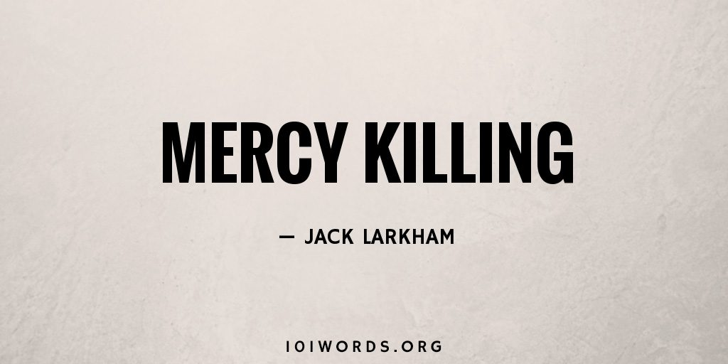 mercy killings Mercy killing news find breaking news, commentary, and archival information about mercy killing from the tribunedigital-orlandosentinel.