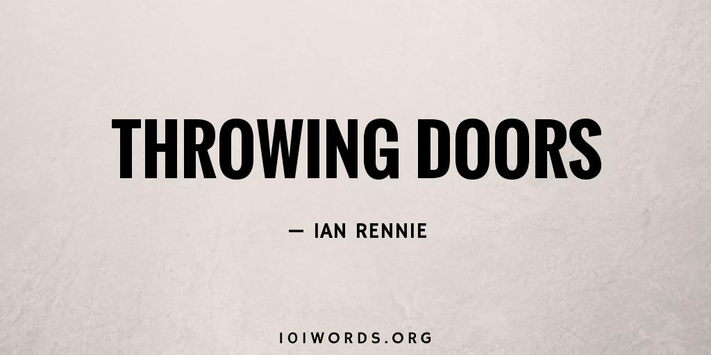 Throwing Doors