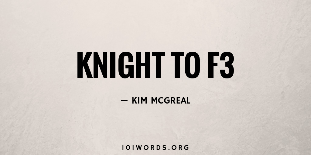 Knight to F3