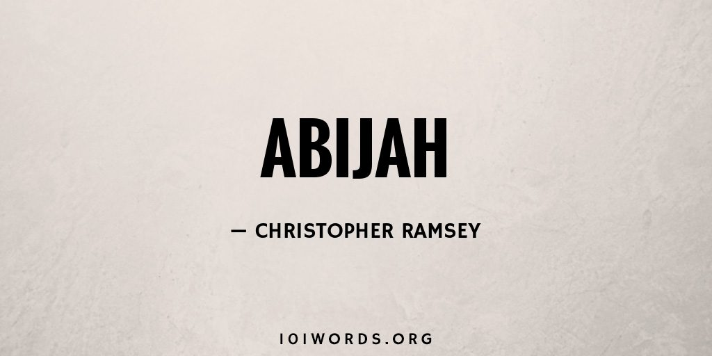 Abijah