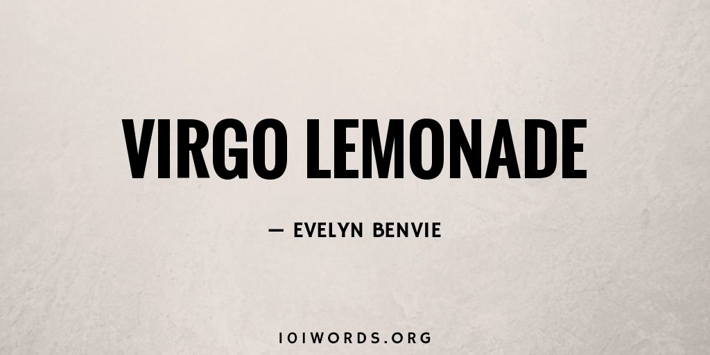 Virgo Lemonade