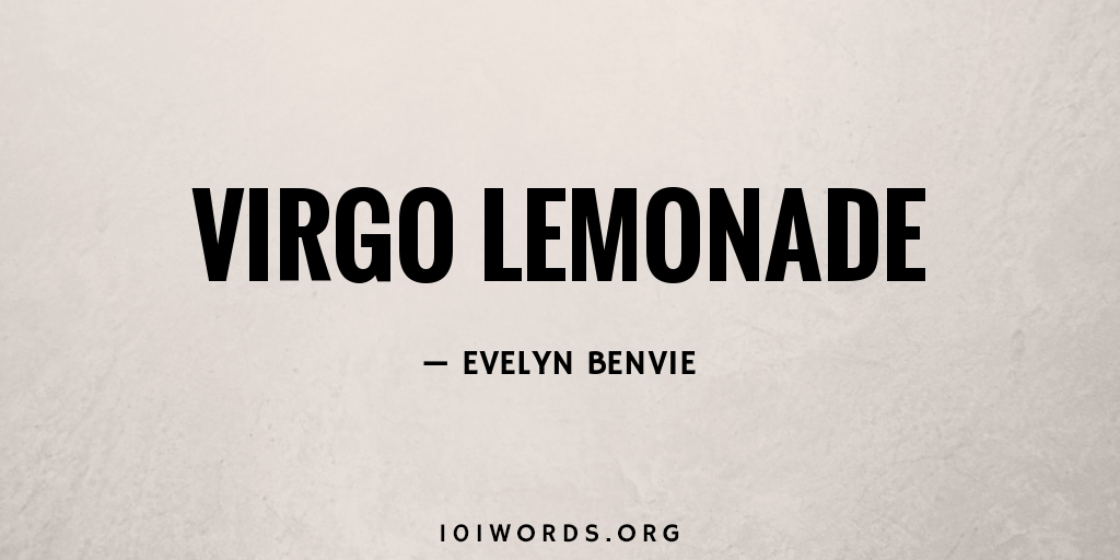 Virgo Lemonade