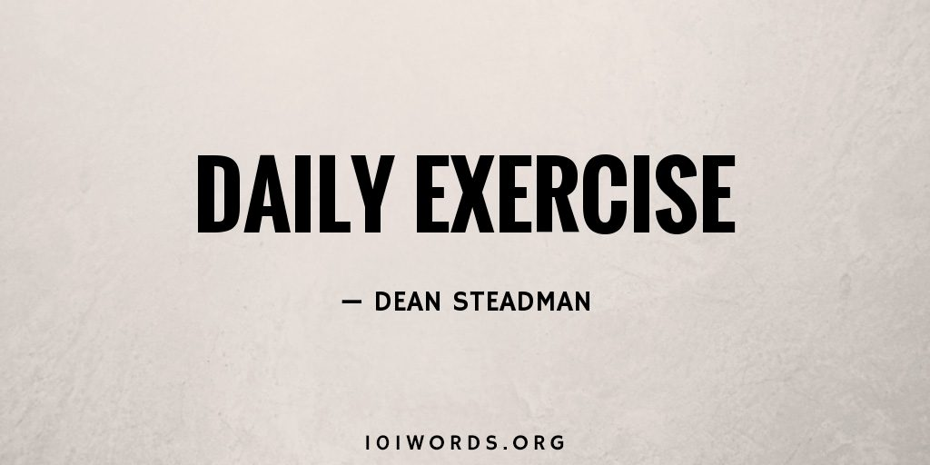 Daily Exercise